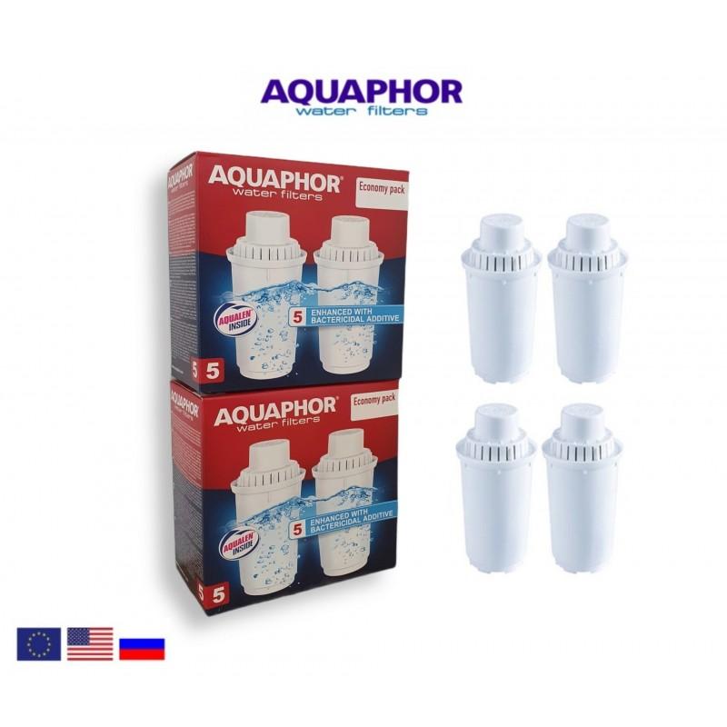 Aquaphor B100-5 (4 τεμαχίων) Ανταλλακτικό Φίλτρο - Aquaphor