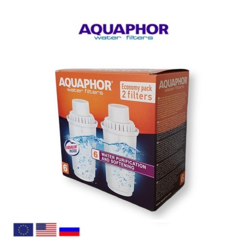 Aquaphor B100-6 (2 τεμαχίων) Ανταλλακτικό Φίλτρο - Aquaphor