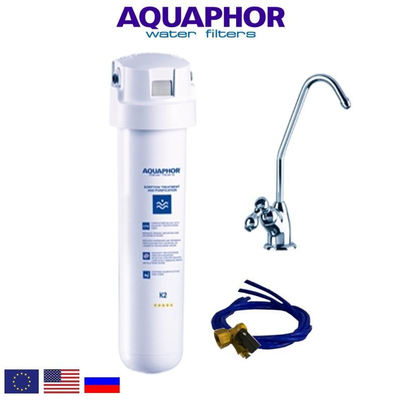 Aquaphor Crystal Solo Φίλτρο Νερού Κάτω Πάγκου - Aquaphor