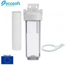 Ecosoft FPV12ECO 10''x1/2'' Φίλτρο Κεντρικής Παροχής Διάφανο - Ecosoft