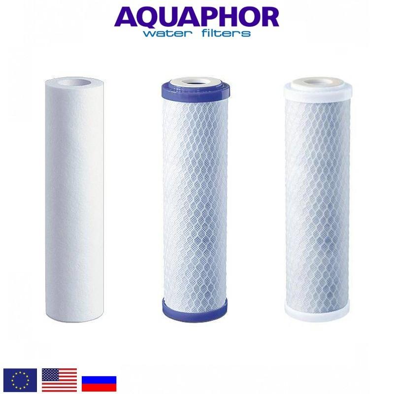 Aquaphor Trio Norma Replacement Set Ανταλλακτικό Σετ Φίλτρων - Aquaphor