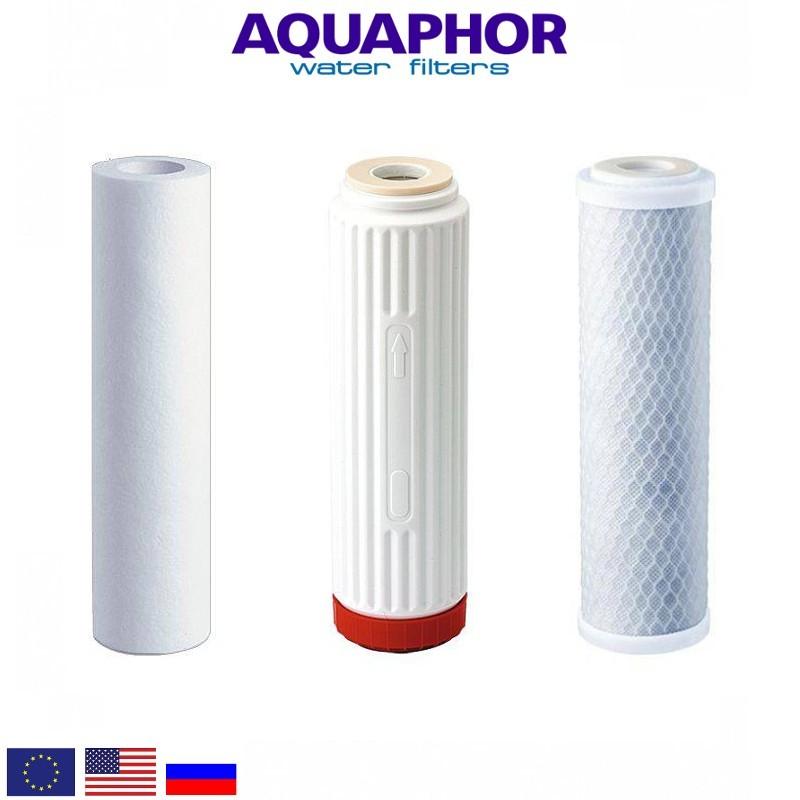Aquaphor Trio Norma H Replacement Set Ανταλλακτικό Σετ Φίλτρων - Aquaphor