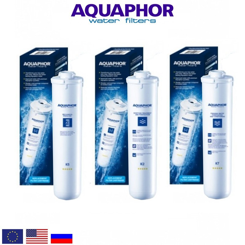 Aquaphor Crystal A Replacement Set Ανταλλακτικό Σετ Φίλτρων - Aquaphor