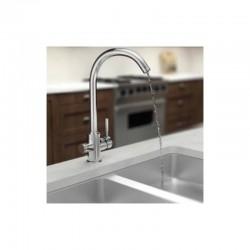 Aquaphor C125 ανοξείδωτη μπαταρία (βρύση) κουζίνας τριών παροχών - Aquaphor
