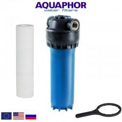 Aquaphor Prefilter Slim Line Blue 10'' Φίλτρο Νερού Κεντρικής Παροχής Μπλε - Aquaphor