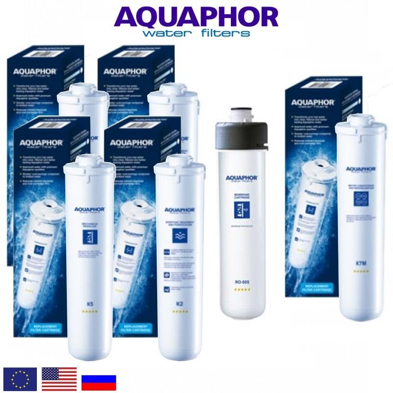 Aquaphor Morion 101S Replacement Set Ανταλλακτικό Σετ Φίλτρων - Aquaphor