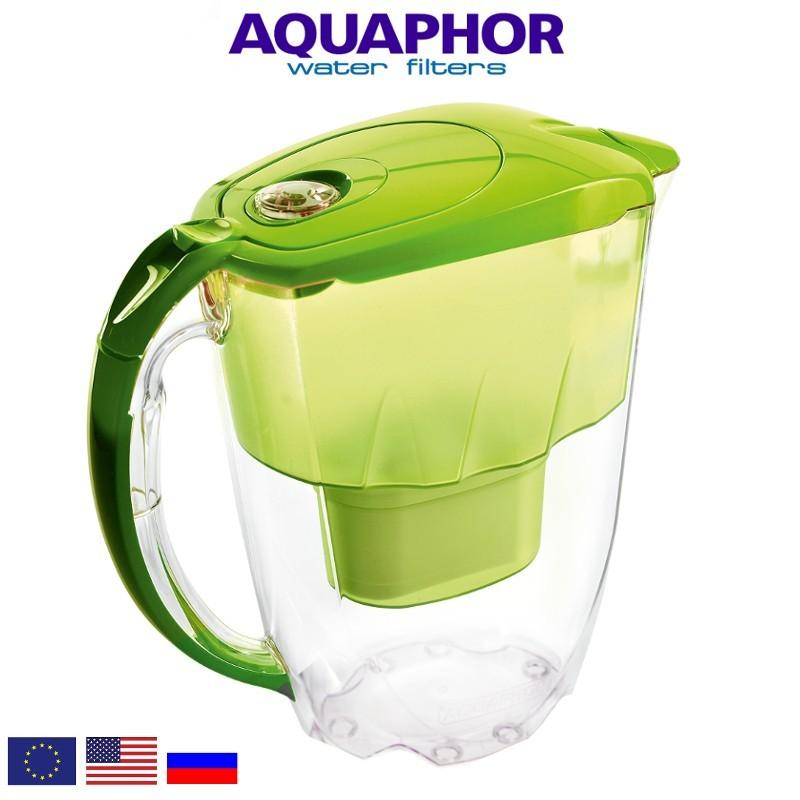 Aquaphor Jasper B25 Bright Green Κανάτα Με Φίλτρο Νερού - Aquaphor